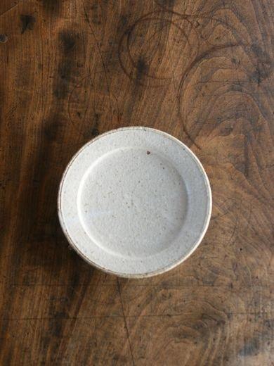 5寸リム皿-黒釉