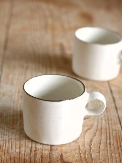 白コーヒーカップ