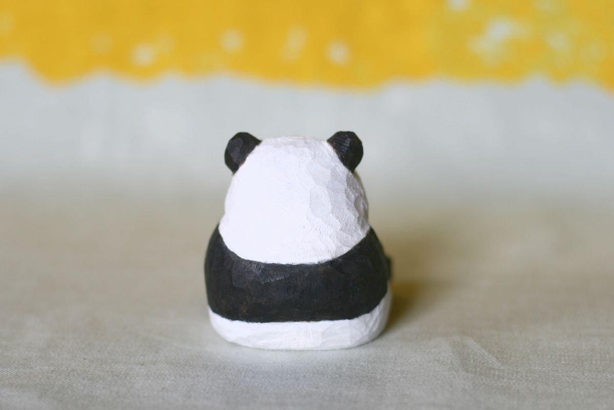wooden fur 土屋香子 パンダ