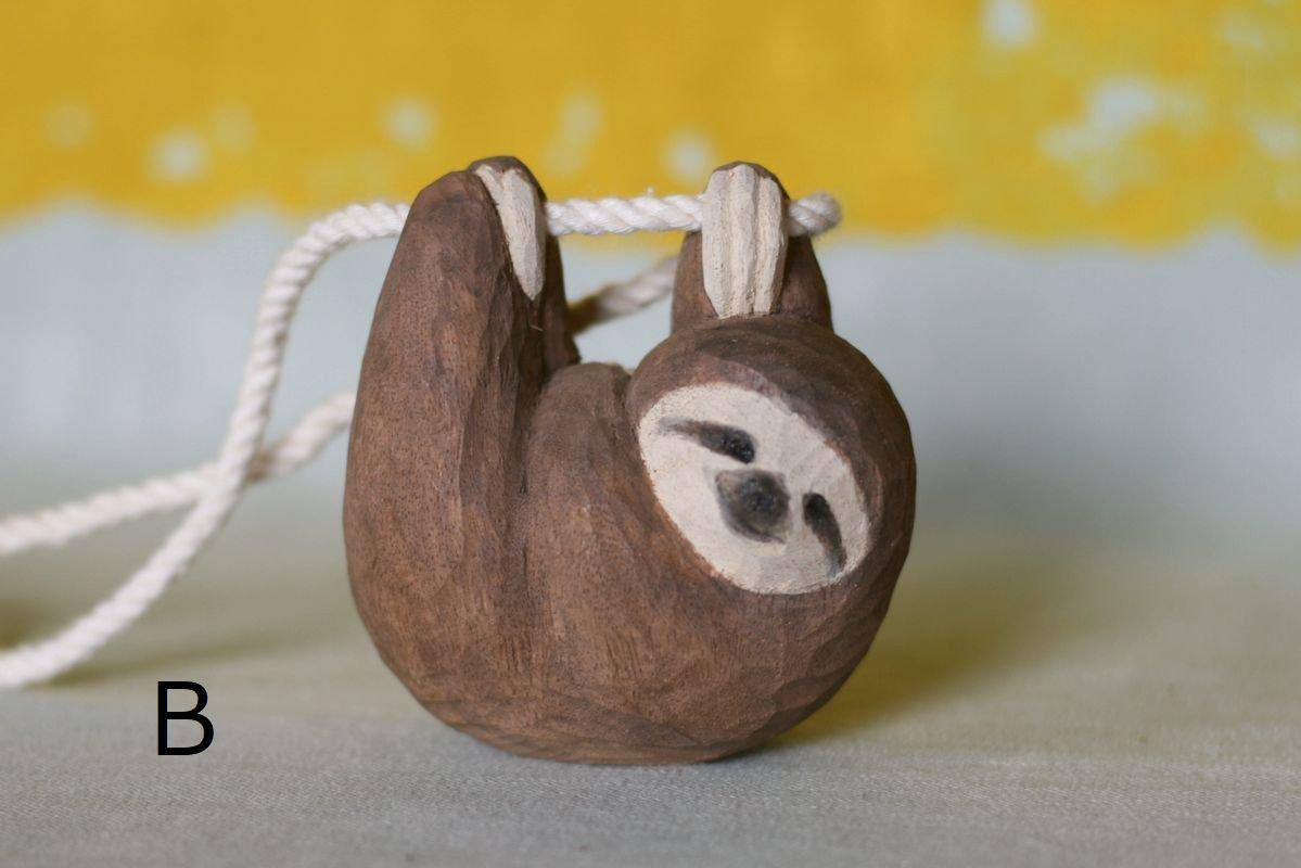 wooden fur 土屋香子 ナマケモノ