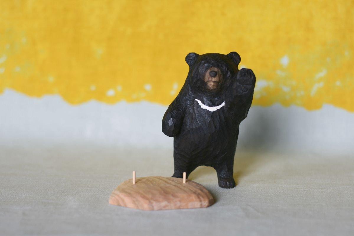 wooden fur 土屋香子 ツキノワグマ