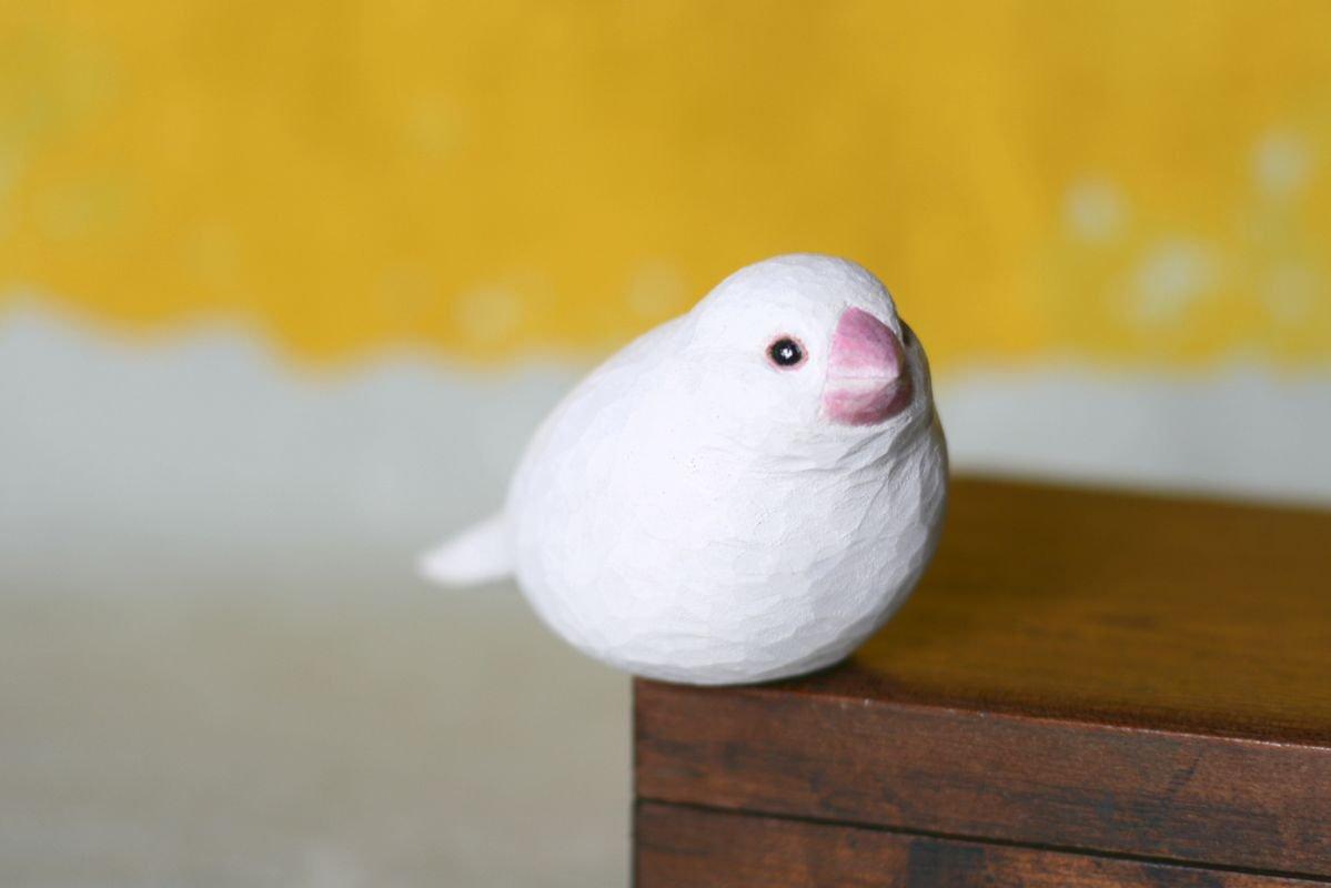 wooden fur 土屋香子 文鳥