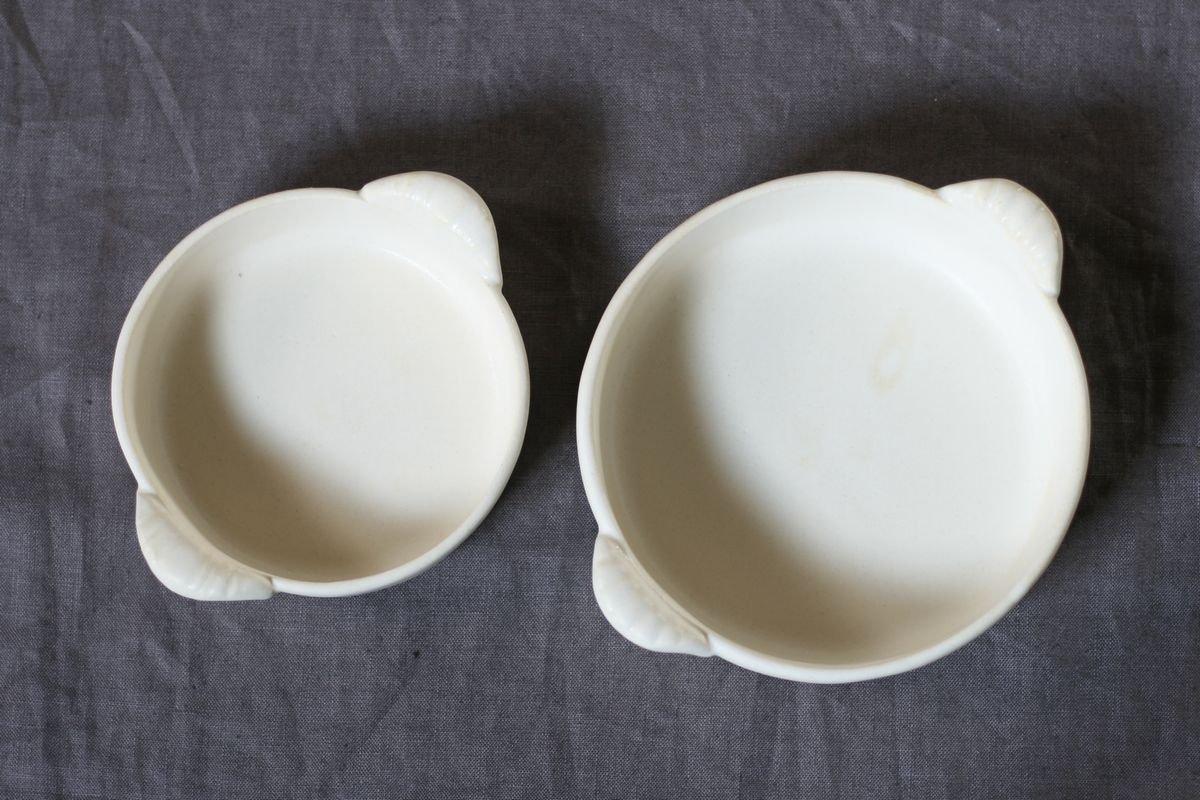 中坊優香 耐熱グラタン丸皿S白