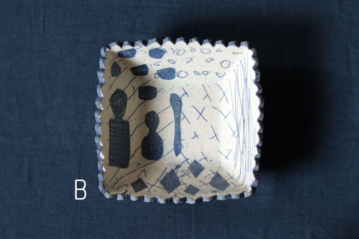 阿部誠 角鉢(白紺)