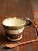 灰釉マグカップ