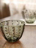豆しぼり柄冷茶 緑