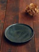 黒呉須玉縁5.5寸皿