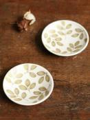 葉っぱの豆皿