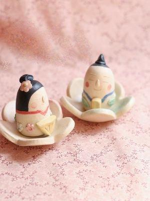 おひなさま豆(花2つ)