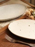 shiro moegi楕円皿