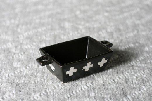 new四角グラタン皿・クロス