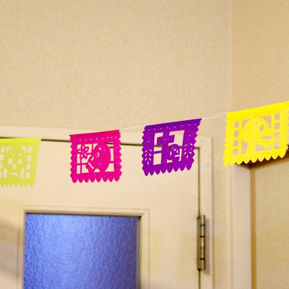 メキシカンスカル☆お祭り・パーティ用のガーランド
