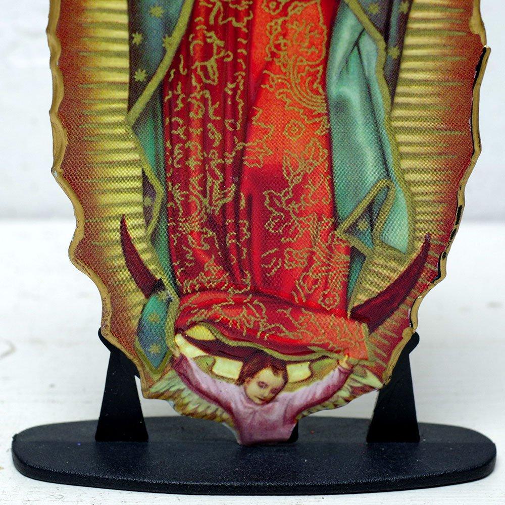 メキシコ☆教会で売っているマリアの飾り プレートお守り A ☆発送は→【レターパックライト】【レターパックプラス】【宅急便】
