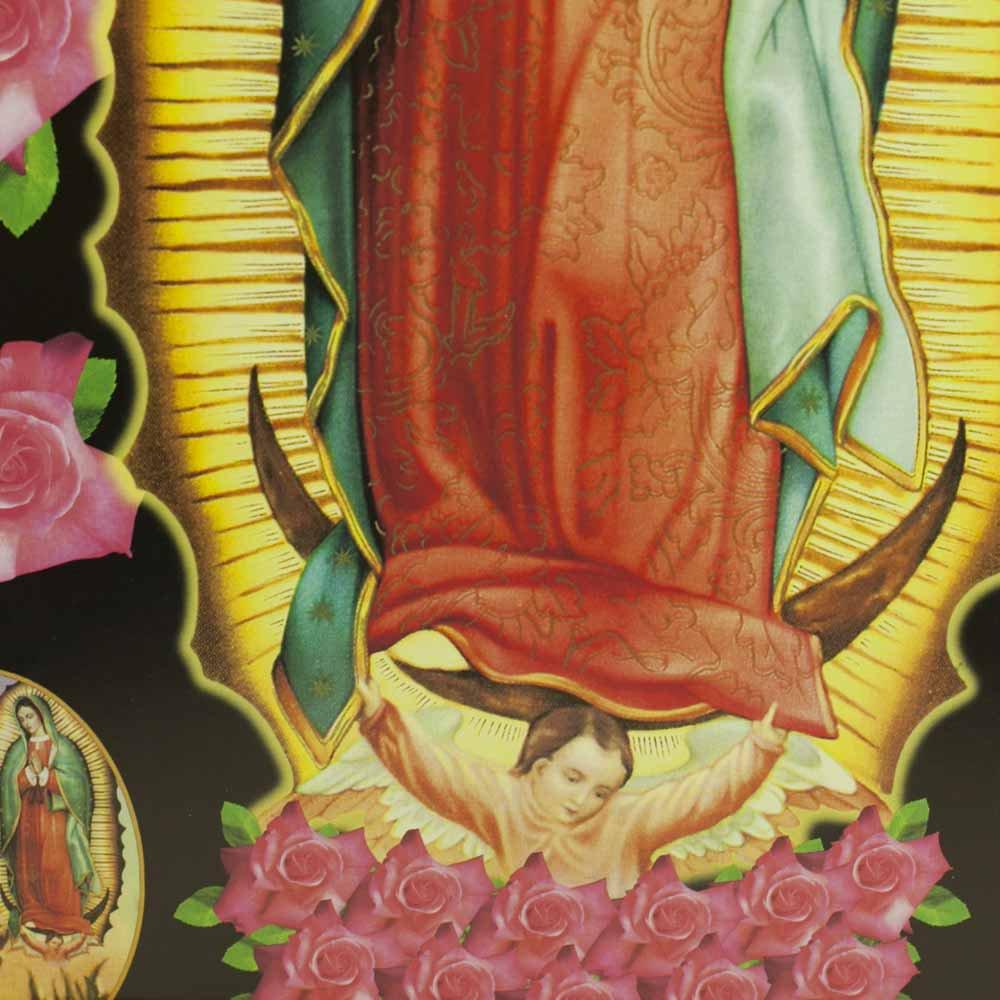 メキシコ☆マリアグアダルーペ ポスター ☆フレームセット【8】 ☆発送は→【宅急便のみ】