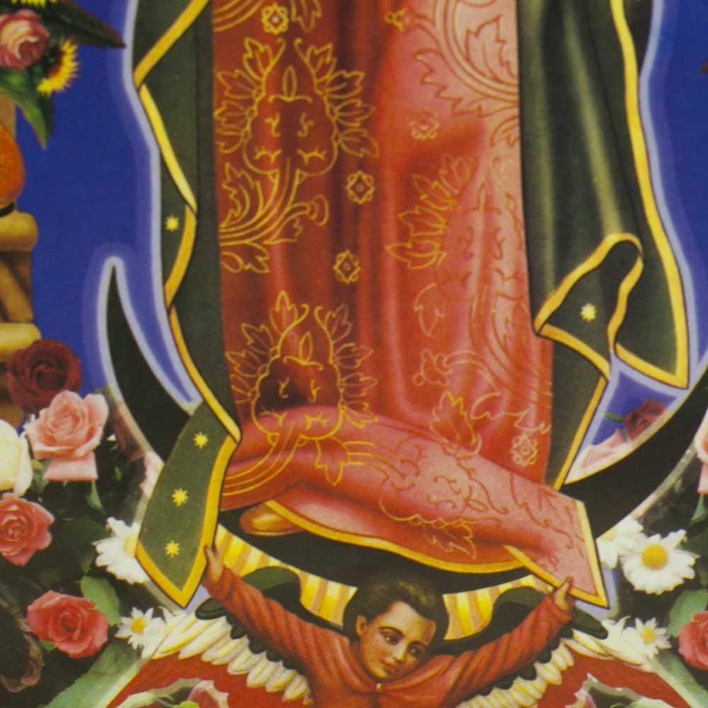 メキシコ☆マリアグアダルーペ ポスター ☆フレームセット【19】 ☆発送は→【宅急便のみ】