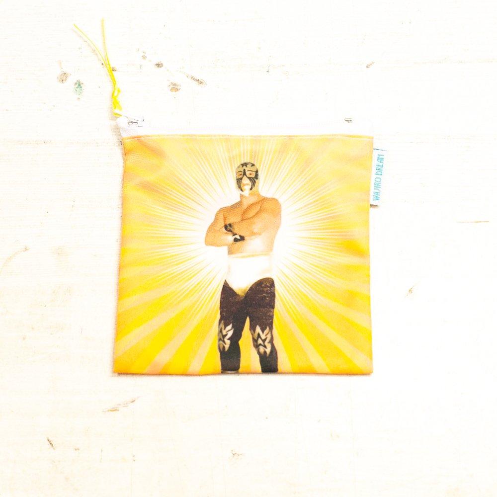 メキシコ☆ルチャ・リブレ ポーチA  小銭入れ☆発送は→【スマートレター】【レターパックライト】【レターパックプラス】【宅急便】