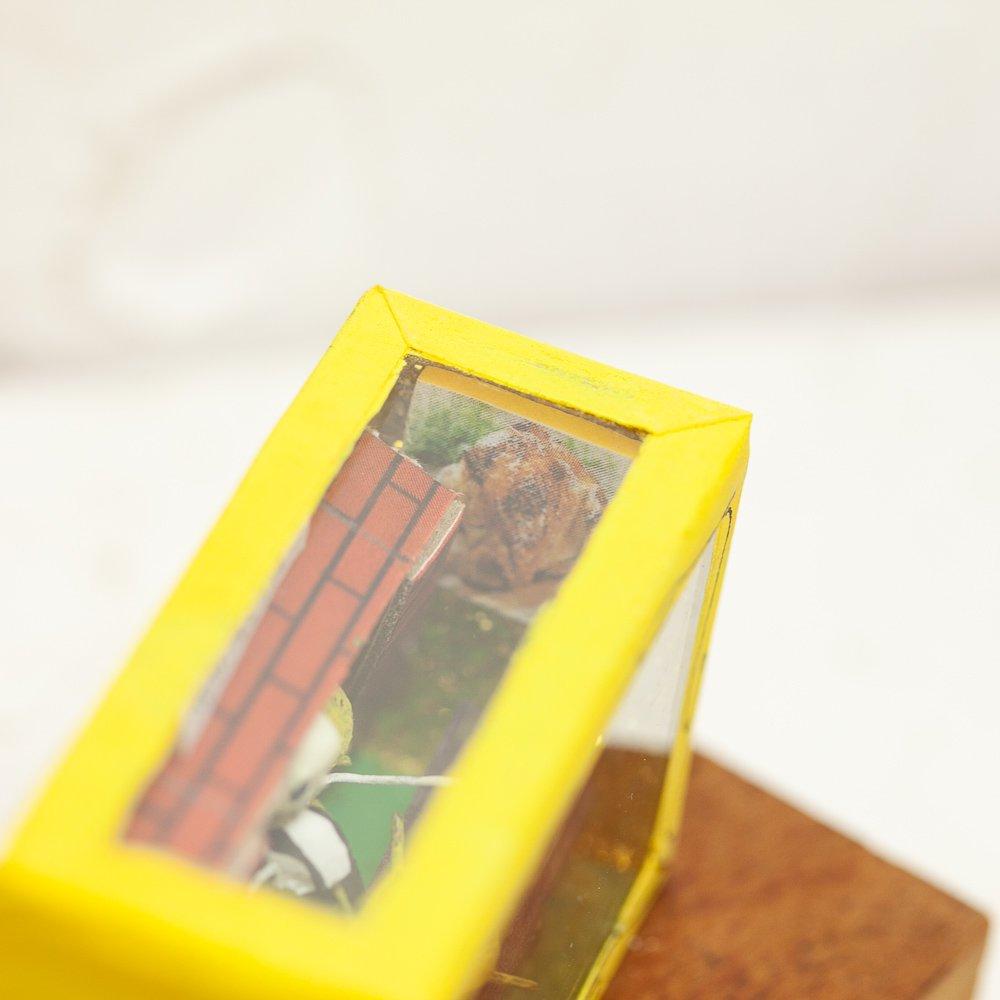 メキシコ☆カラベラ(ガイコツ)BOX Sサイズ チキン屋さん ☆発送は→【レターパックプラス】【宅急便】