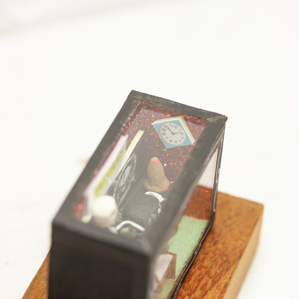 メキシコ☆カラベラ(ガイコツ)BOX Sサイズ タトゥーショップ ☆発送は→【レターパックプラス】【宅急便】