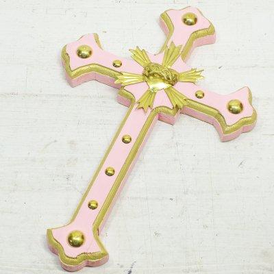 Diabla☆細クロス 十字架 30cm H(PINK) ☆発送は→【レターパックライト】【レターパックプラス】【宅急便】