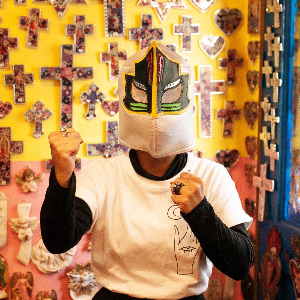 メキシコ☆ルチャ・リブレ 応援用マスク G☆発送は→【レターパックライト】【レターパックプラス】【宅急便】