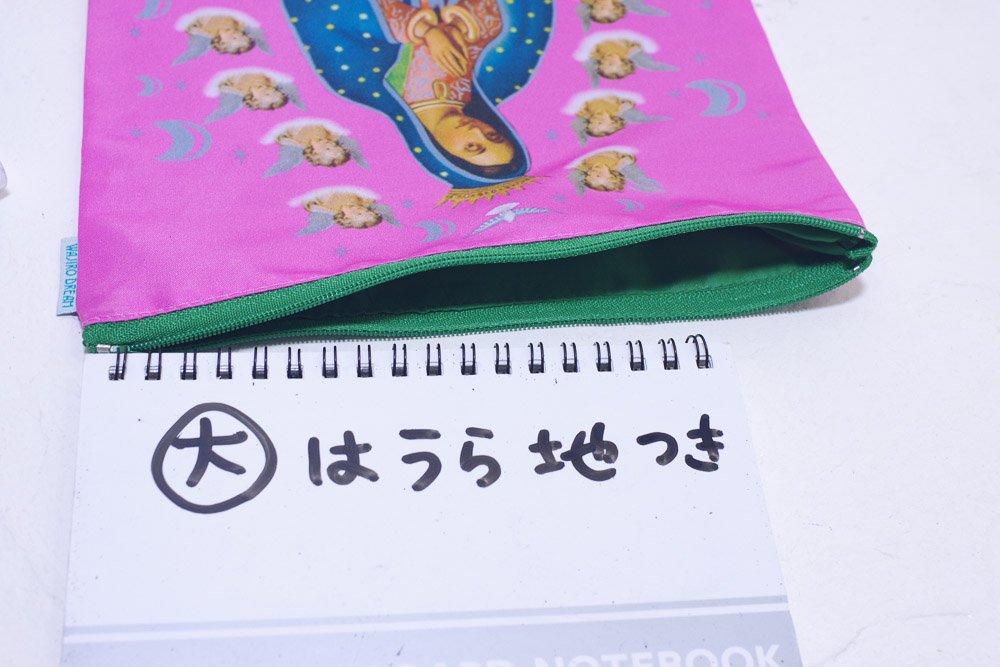<img class='new_mark_img1' src='https://img.shop-pro.jp/img/new/icons13.gif' style='border:none;display:inline;margin:0px;padding:0px;width:auto;' />メキシコ☆Wajiro Dream フリーダ・カーロポーチF_A  Mサイズ(15cm×21cm)☆発送は→【スマートレター】【レターパックライト】【レターパックプラス】【宅急便】