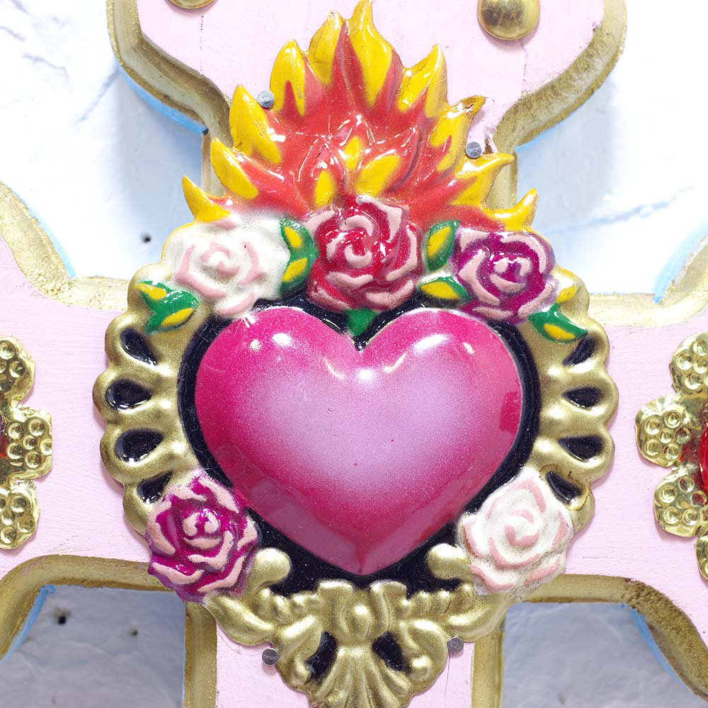 <img class='new_mark_img1' src='https://img.shop-pro.jp/img/new/icons13.gif' style='border:none;display:inline;margin:0px;padding:0px;width:auto;' />Diabla☆パステルクロス(25cm)(PINK) ☆発送は→【レターパックライト】【レターパックプラス】【宅急便】