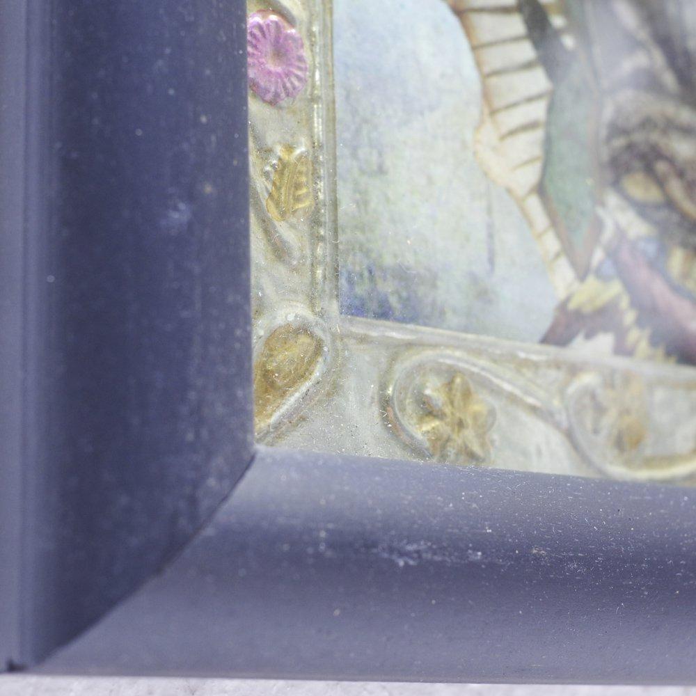 <img class='new_mark_img1' src='https://img.shop-pro.jp/img/new/icons13.gif' style='border:none;display:inline;margin:0px;padding:0px;width:auto;' />メキシコ☆アルミアート額入り マリア様 Mサイズ☆発送は→【レターパックライト】【レターパックプラス】【宅急便】