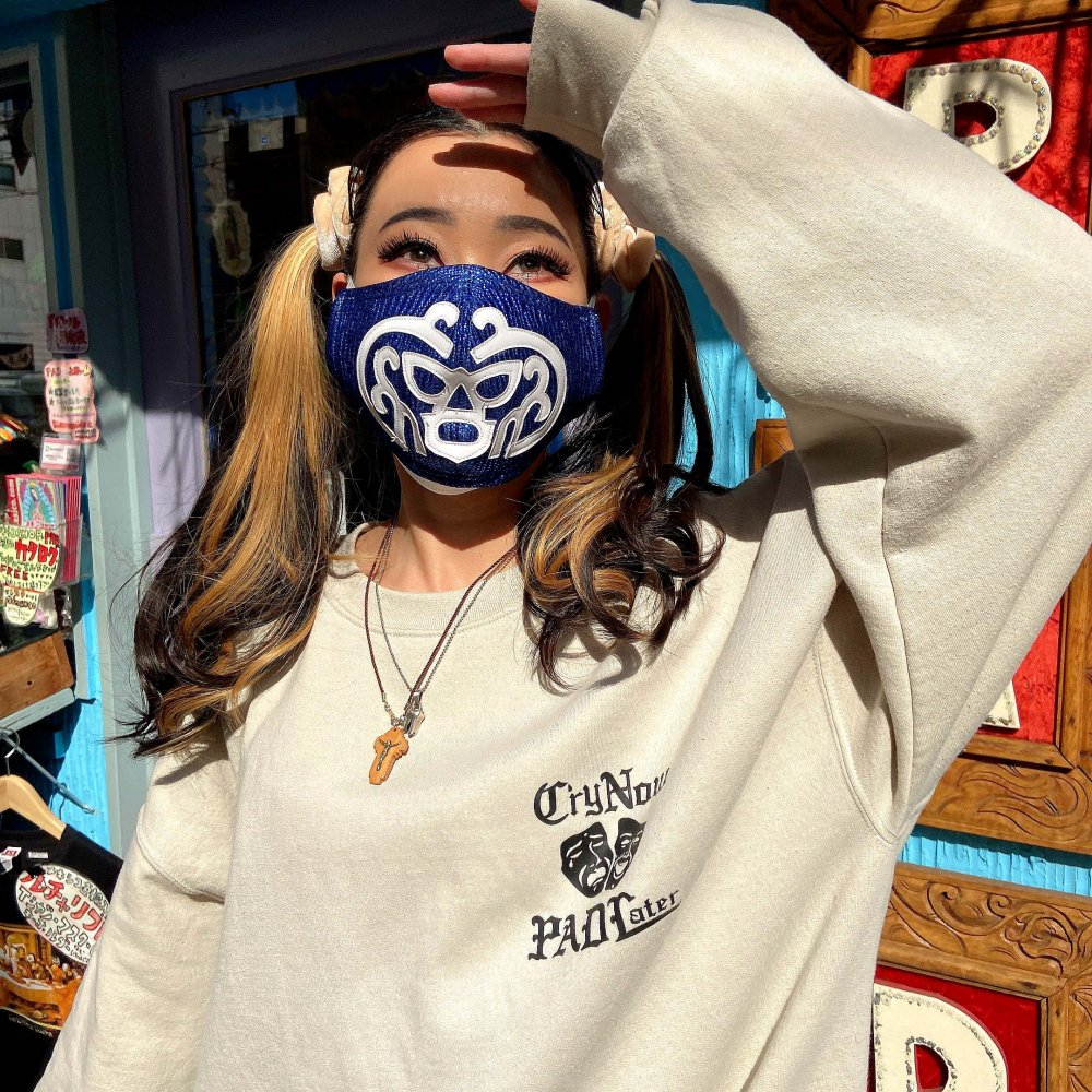 <img class='new_mark_img1' src='https://img.shop-pro.jp/img/new/icons13.gif' style='border:none;display:inline;margin:0px;padding:0px;width:auto;' />Lucha Libre☆プロレスマスクのマスク 【厚】G