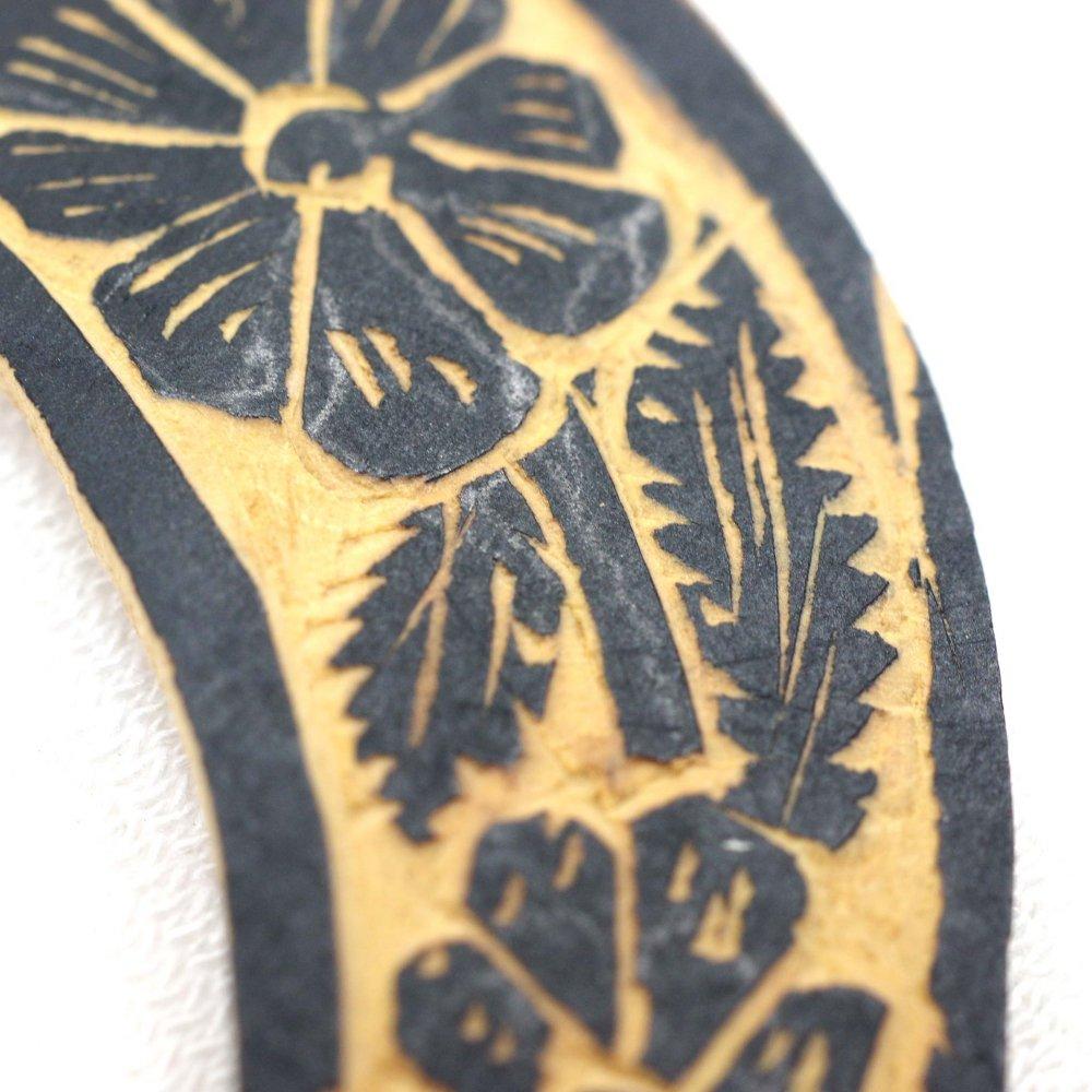 木の実☆手彫りピアス【大】◆イヤリング変更可◆ C