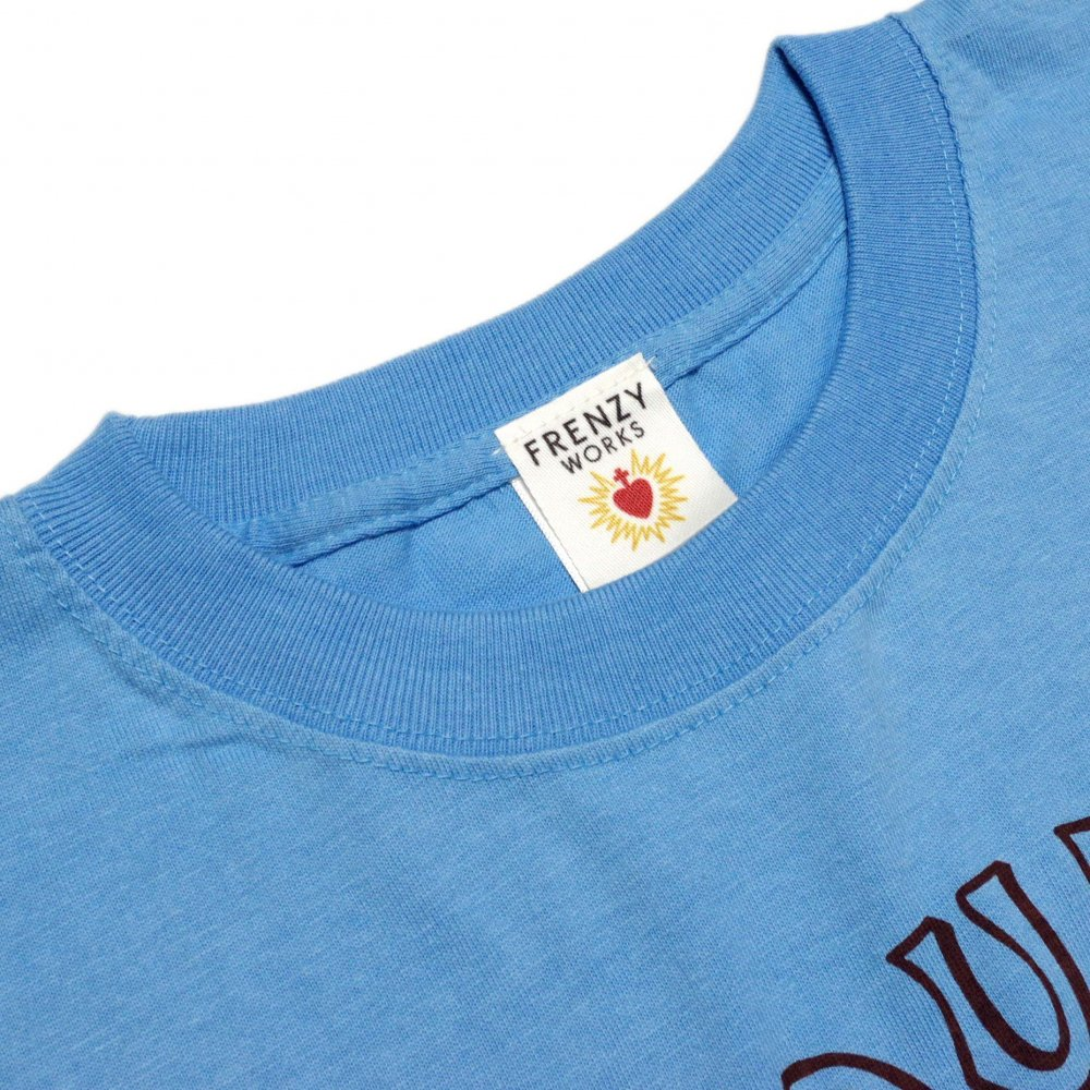 ■FRENZY WORKS■TEQUILA T-shirts【SAXE BLUE】