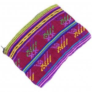 手織り☆薄手やわらかポーチ【Sサイズ】C