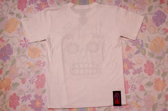 <img class='new_mark_img1' src='//img.shop-pro.jp/img/new/icons13.gif' style='border:none;display:inline;margin:0px;padding:0px;width:auto;' />メンズ■XICO■CALAVERA Tシャツ【WHT】☆発送は→【レターパックライト】【レターパックプラス】【宅急便】