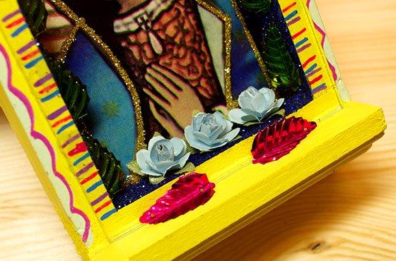 マリア☆グアダルーペ 木製ニチョ B ☆発送は→【レターパックプラス】【宅急便】