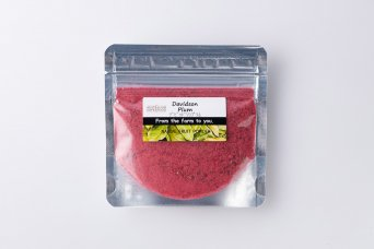デビッドソンプラム 10g(袋詰)生の果実を氷点下40℃でフリーズドライ
