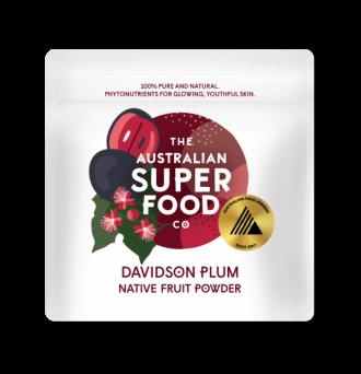 デビッドソンプラム 30g(袋詰め)生の果実を氷点下40℃でフリーズドライ