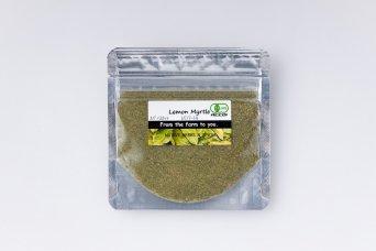 オーガニックレモンマートルスパイスカット(袋詰め・10g)
