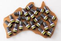 オーストラリア産のエッセンシャルオイル 3ml x 10種類 お試しセット