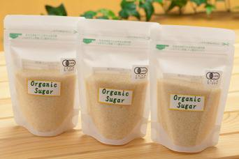 オーガニック砂糖 (100g, 200g, 2,000g)