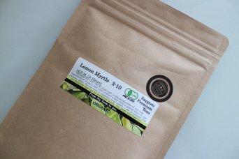 Premium有機JASレモンマートルティー茶葉(3〜10�のカット)NSW州 25g・50g・500g