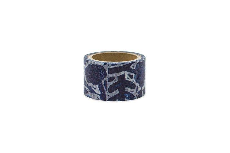 ZUAN & ZOKEI × HIGHTIDE マスキングテープ ブルーフラワー 鹿児島睦