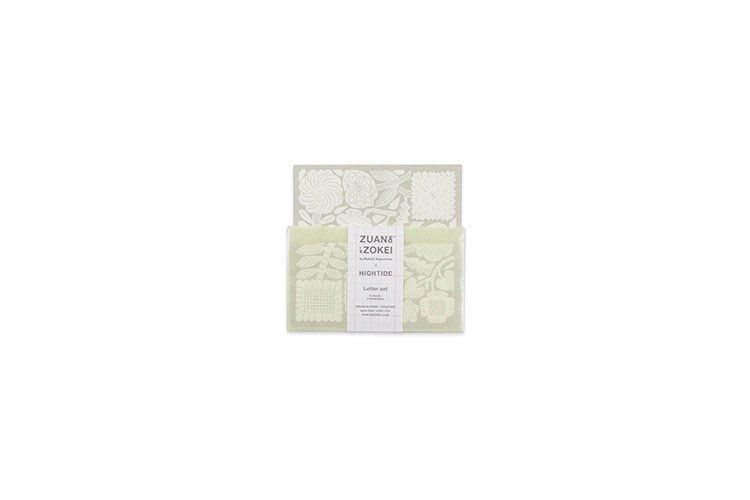 ZUAN & ZOKEI × HIGHTIDE ミニレターセット ベージュ