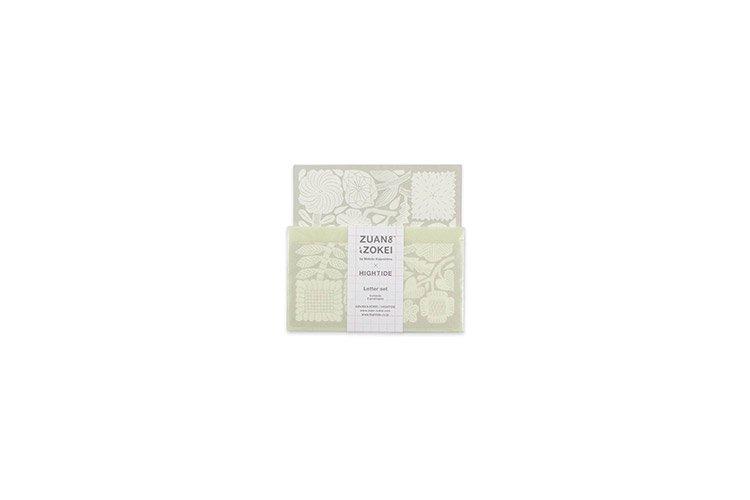 ZUAN & ZOKEI × HIGHTIDE ミニレターセット ベージュ 鹿児島睦