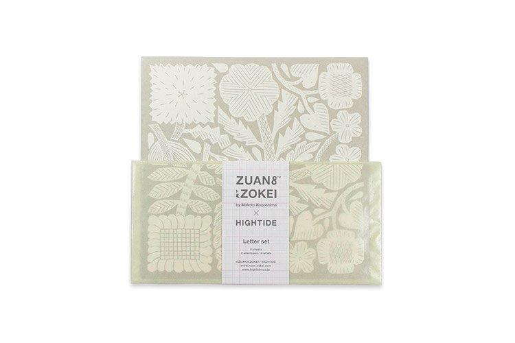 ZUAN & ZOKEI × HIGHTIDE レターセット ベージュ 鹿児島睦