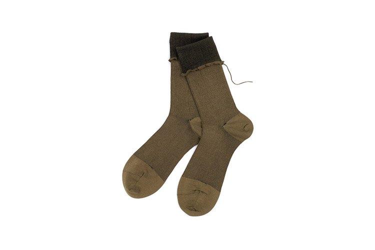 ヒムカシ靴下 コットン ホワイト