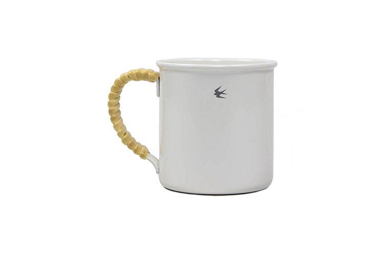 ツバメ ラタンマグカップ M