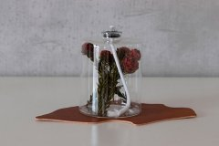 PLANTAHOLIC OIL LAMP Red Flower