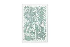 METSIKKO タオル white-aspen green