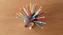 ハリネズミ 色鉛筆セット