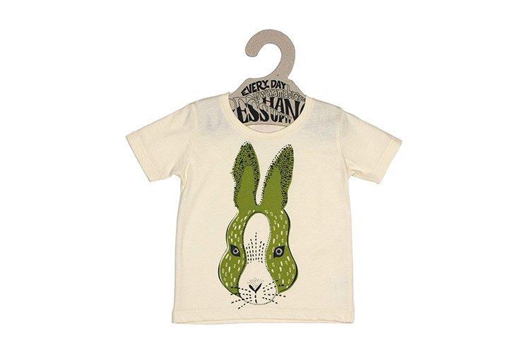 Honey Tee ウサギ 90cm (ベビー・子供用Tシャツ)