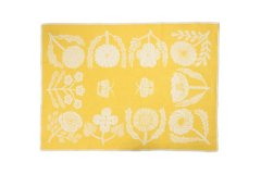 ブランケット VILLIKUKKIA Blanket Yellow M